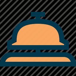 bell, hotel, lobby, reception icon