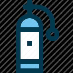 diver, diving, oxygen, scuba icon