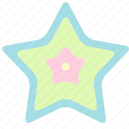 holiday, star, summer, travel, vacation icon