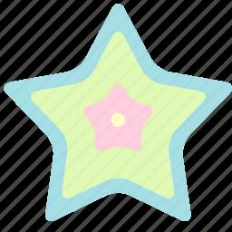 holiday, star, summer, travel, vacation icon