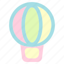 balloon, holiday, summer, travel, vacation icon