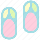 holiday, sandal, slippers, summer, travel, vacation icon