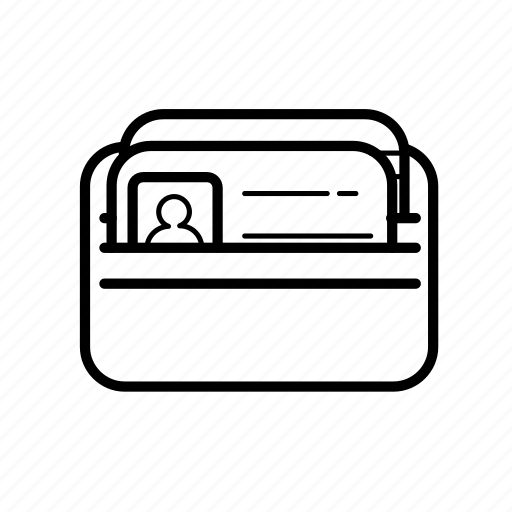 3, card, wallet icon