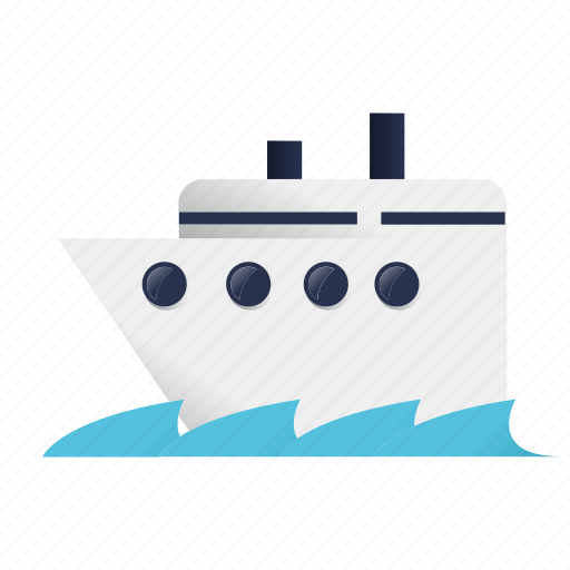 ferry, holiday, ship, transport, transportation, travel, vacation icon