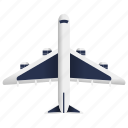 airplane, holiday, plane, tourism, transportation, travel icon