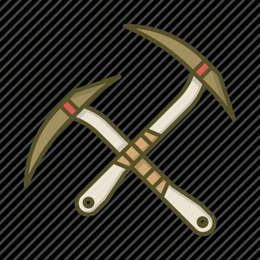 alpine, alpinism, axe, climbing, mountain, tool icon