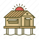 boro-boro, bungalow, cottage, home, house, villa icon