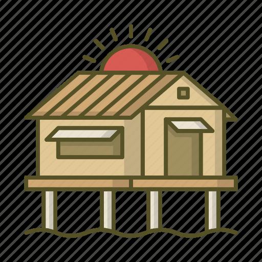 boro-boro, bungalow, cottage, home, house, villa icon