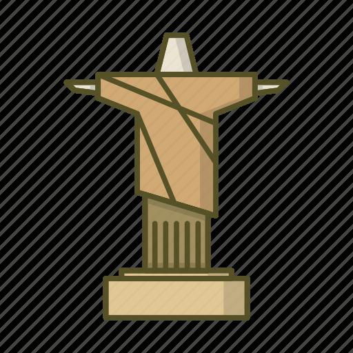 Brazil, christ, de, janeiro, rio icon - Download on Iconfinder