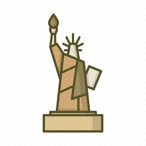 america, american, monument, states, statue of liberty, united, usa icon