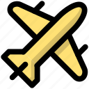 flight, journey, scheduled, tour, tourism, travel, trip icon