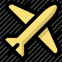 flight, journey, scheduled, tour, tourism, travel, trip icon