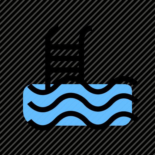 grid, pool, pool icon, swim icon, swimming icon, water icon icon