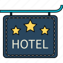 holiday, holidays, hotel, travel, vacation icon