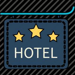 holiday, holidays, hotel, travel, vacation icon