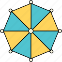 beach, holiday, summer, sun, travel, umbrella, vacation icon