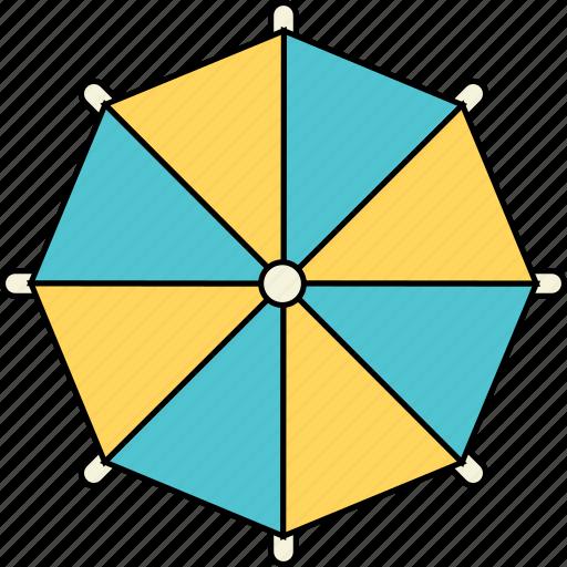beach, holiday, summer, sun, travel, umbrella, vacation icon