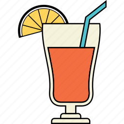 cup, drink, food, holiday, juice, travel, vacation icon