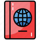 atlas book, education, geographical book, geographical information, geography icon