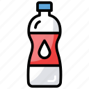 bottle, drinking water, plastic container, water bottle, water cane icon