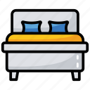 bedroom, home, house room, master bedroom, real estate, room icon