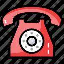 communication device, digital phone, landline phone, office phone, telecommunication, telephone icon