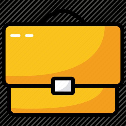 briefcase, business bag, business case, portfolio, suitcase icon