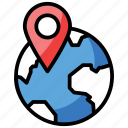 global access, global location, gps, navigation, network location, pin location icon
