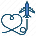 airplane, plane, transportation icon