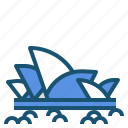 australia, landmark, opera, sydney icon