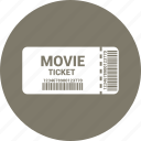 docket, paper, ticket icon