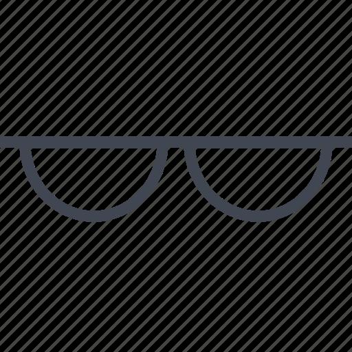 accessory, glasses, summer, wear icon