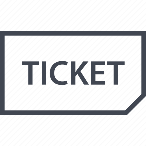 event, out, sold, ticket icon