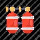 gas cylinders, oxygen, oxygen bottles, oxygen cylinder, oxygen tank, scuba cylinder
