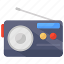 audio device, broadcasting radio, entertainment radio, media radio, radio, radio set