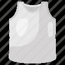 sleeveless shirt, summer cloth, tank, tank top, top, undergarment, vest icon