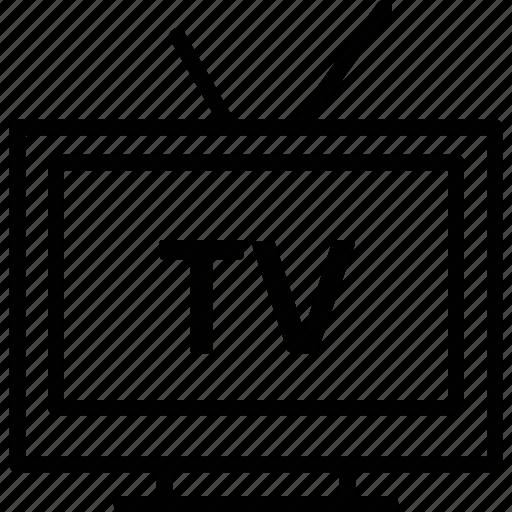 electronics, retro tv, tv, tv set, vintage tv icon