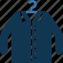 garments, hanger shirt, t shirt, tee icon