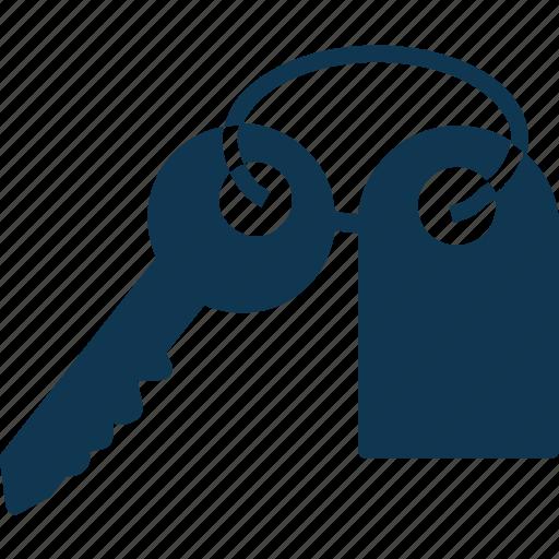 key, key tag, keychain, room key icon