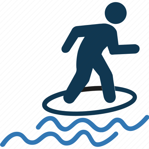 Wakeboarding, water sports, water surfing, wave riding icon - Download on Iconfinder
