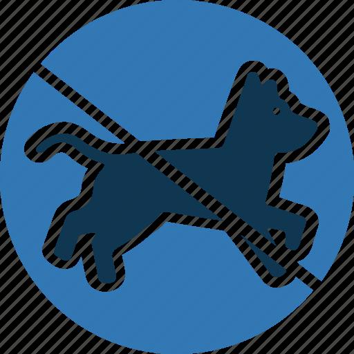 no dog, no pet, pet not allowed, pet prohibition icon
