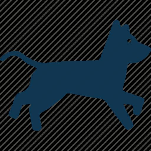 animal, cur, dog, foxhound icon