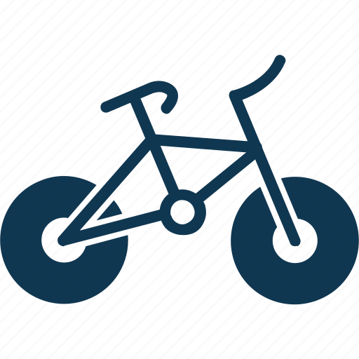 bicycle, bike, pedal cycle, sports icon