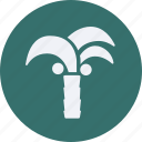 and, palm, tourism, travel, tree icon