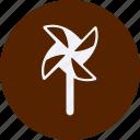 and, pinwheel, tourism, travel icon