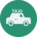 and, taxi, tourism, travel icon