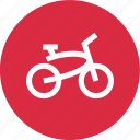 bike, cruiser, speed icon