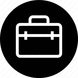 briefcase, case, package icon