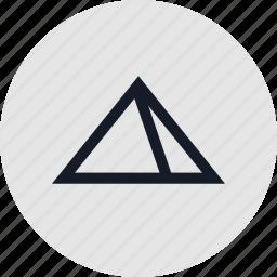 build, egypt, pyramid icon