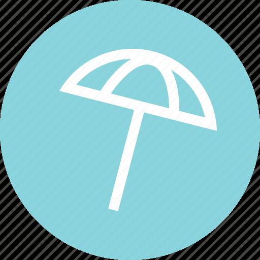 beach, nice, umbrella icon
